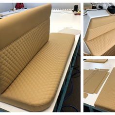 custom boat seats