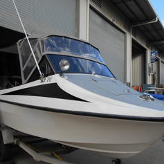 boat clears and enclosures