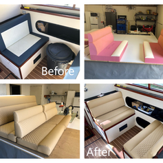 Customised Boat seats