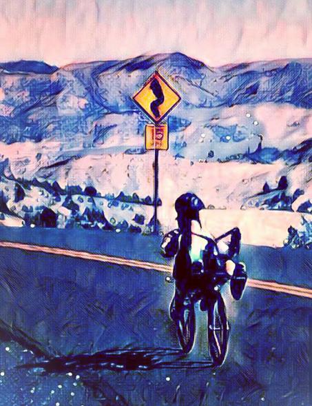 Sandy's Race Across Oregon