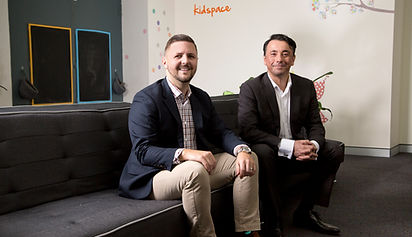 Northshore Kidspace's Psychiatrist Dr Damian Fong and Principal Psychologist Brad Marshall