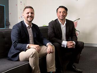 Northshore Kidspace's Psychiatrist Dr Damian Fong and Principal Psychologist Brad Marshall