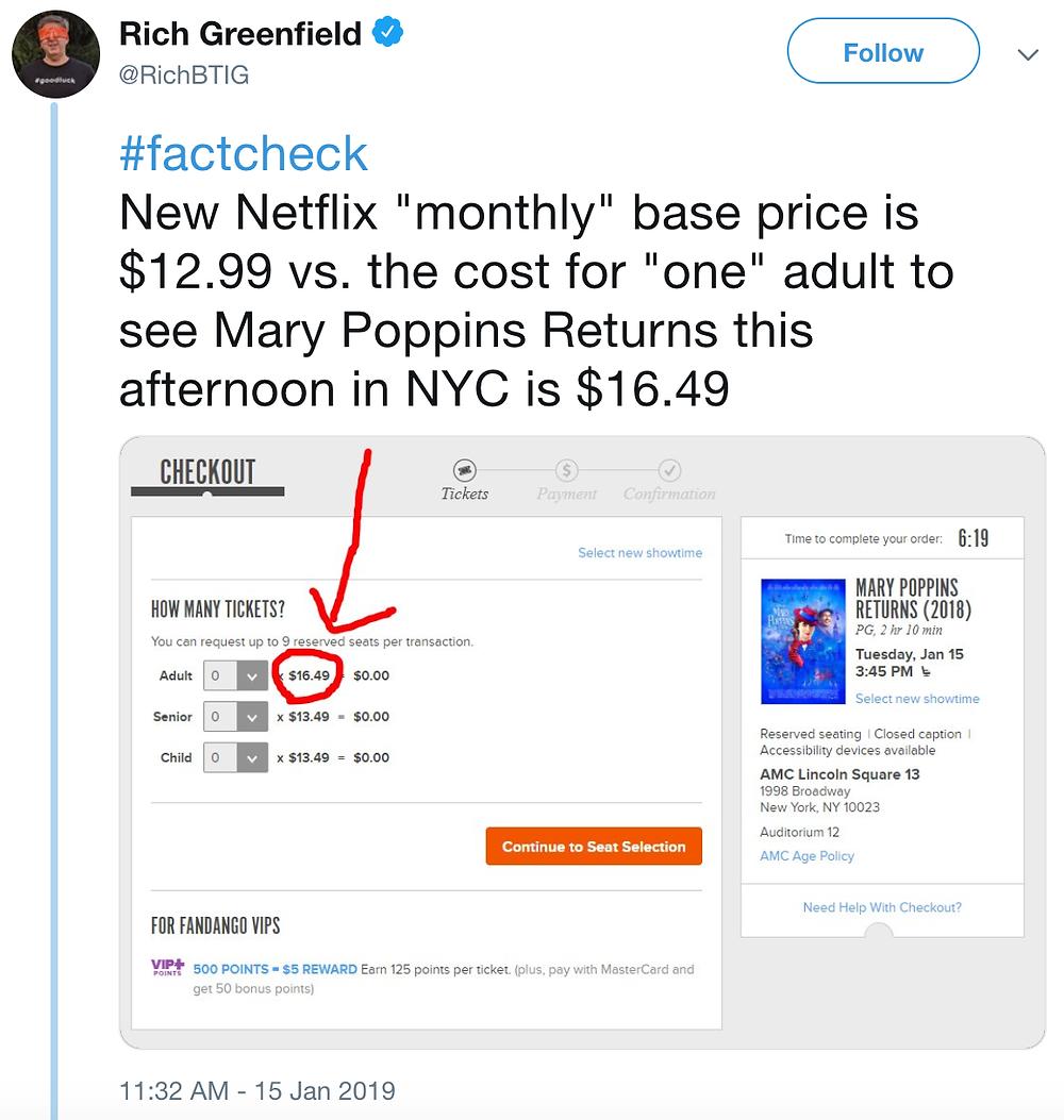 adam blazer blog netflix confidence price increase