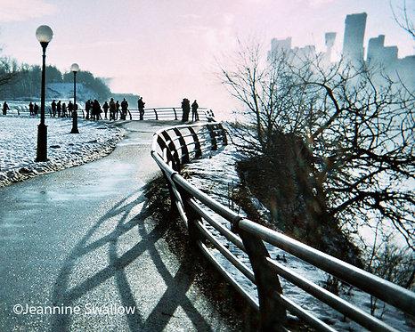 Niagara Falls American Side, Winter
