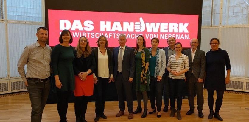 Bund-Länder-Treffen Wirtschaft beim ZDH (Zentralverbands des Deutschen Handwerks).