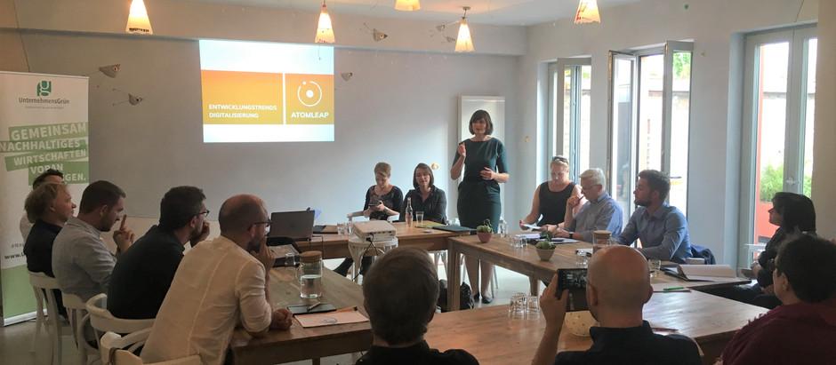 UnternehmensGrün vor Ort in Rostock:  Digitalisierung & Nachhaltigkeit verbinden