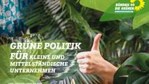 """"""" Grüne Politik für kleine und mittelständische Unternehmen"""""""