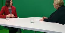 Claudia im Gespräch mit dem Bundesverband Deutscher Kapitalbeteiligungsgesellschaften e.V. (BVK)