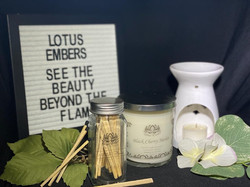 Candles and accessories