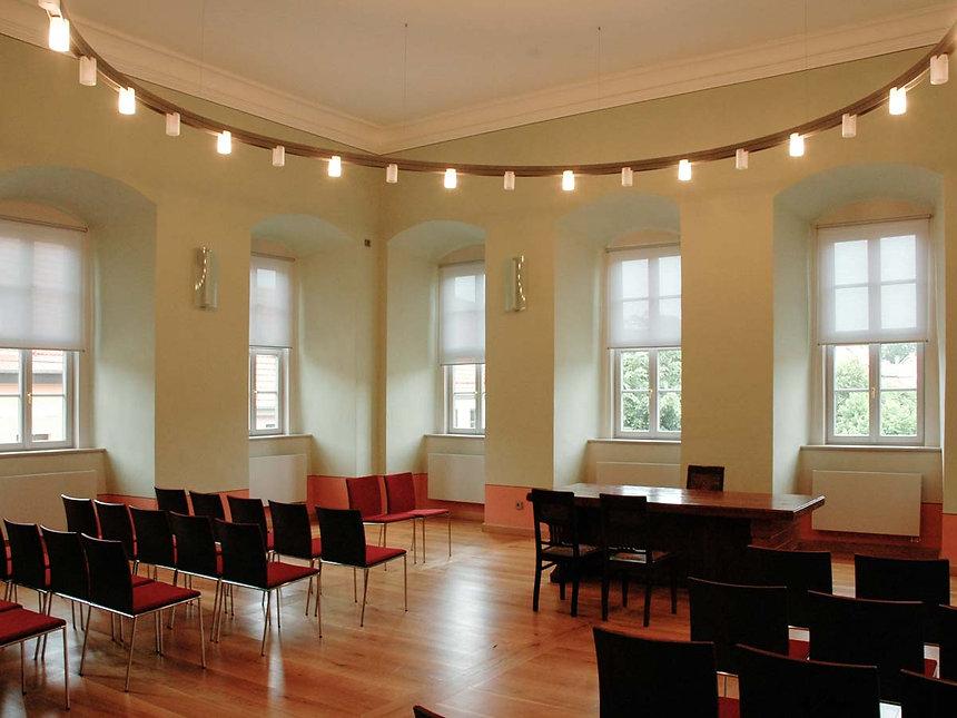 Denkmalpflegerische Sanierung Rathaus in Greußen - Saal