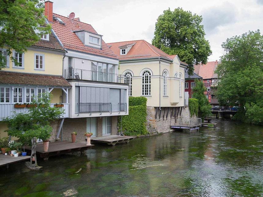 Denkmalpflegerische Sanierung Kleine Synagoge in Erfurt