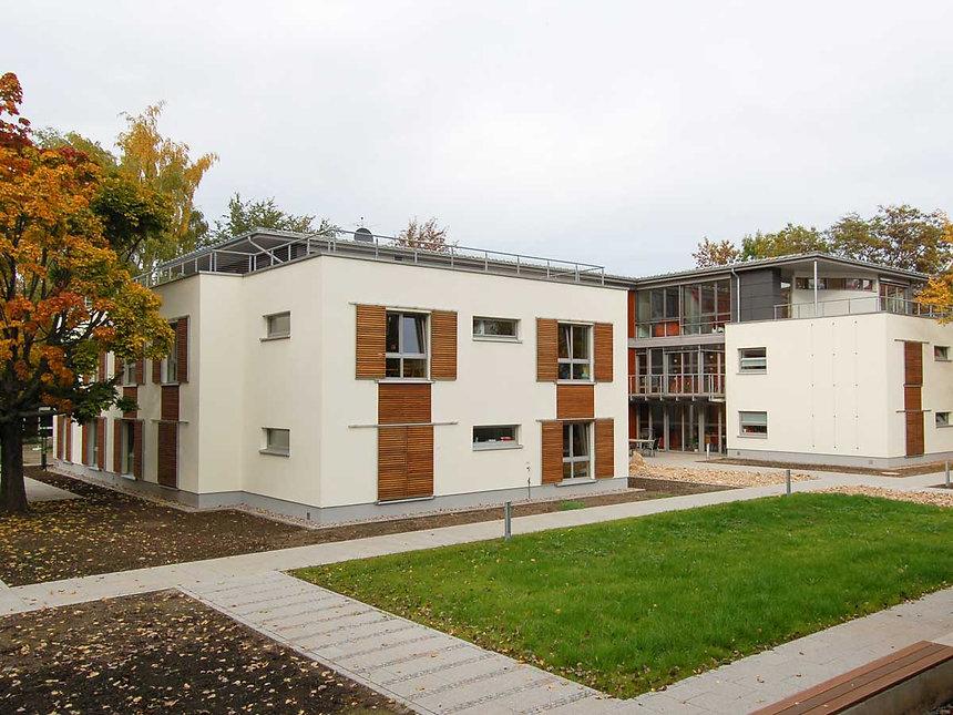 Neubau Wohnstätte Lebenshilfe in Erfurt - Fassade