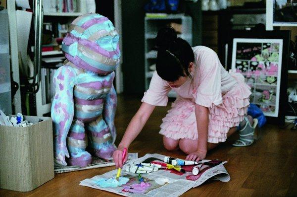 Kipling robot by Susie Lau