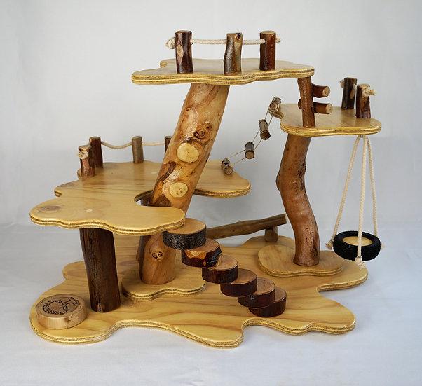 4 Platform Treehouse