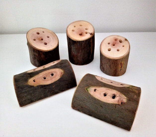 Small world tree blocks