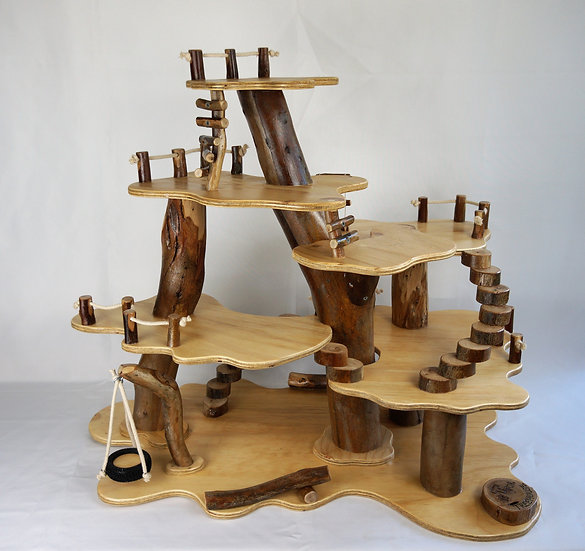 7 Platform Treehouse