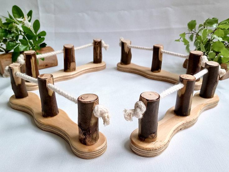 Treehouse Fences (set of 4)