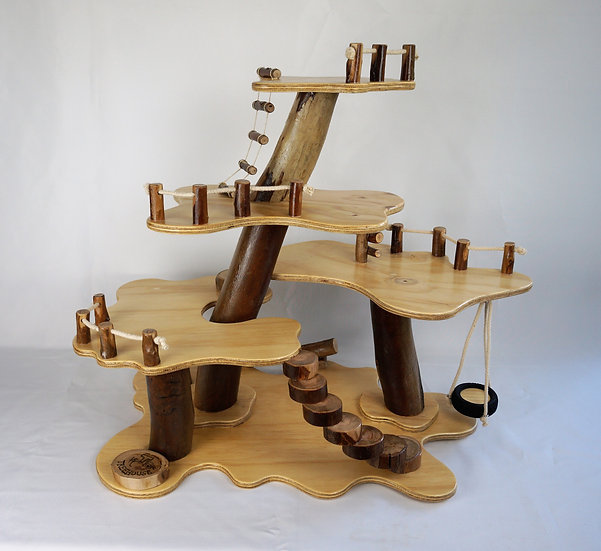 5 Platform Treehouse