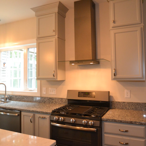 Large Kitchen with Ample Storage