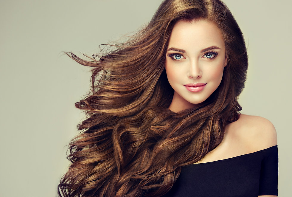 Brunette%20%20girl%20with%20long%20%20and%20%20%20shiny%20wavy%20hair%20.%20%20Beautiful%20%20model%
