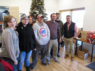 Casa Familia Gets a Holiday Visit!