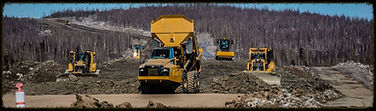 Inuvik to Tuktoyaktuk Highway Construction