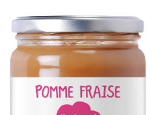 Compote Pomme Fraise - 620g