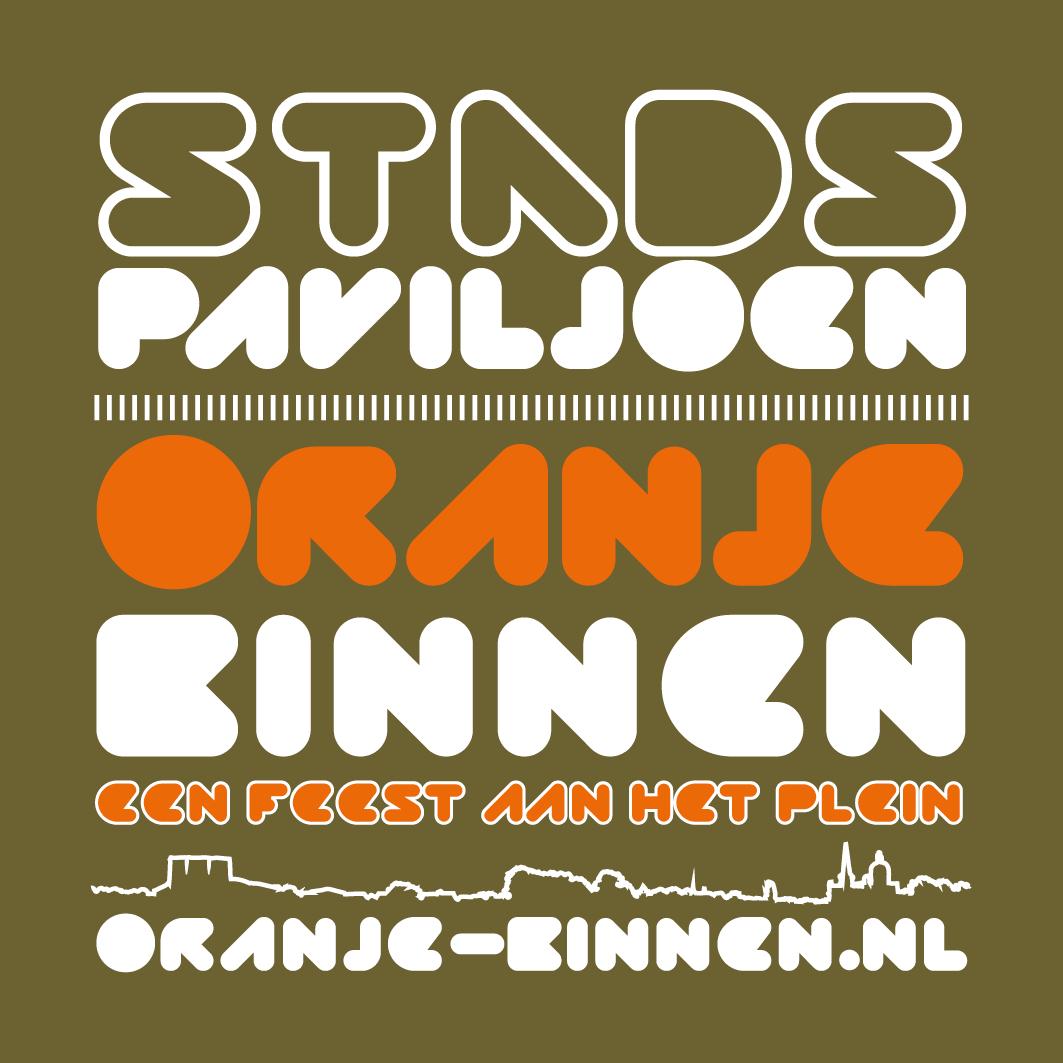 Oranje binnen hoorn logo