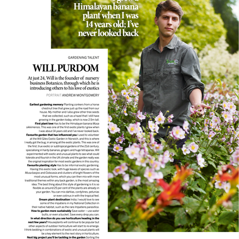 Gardens Illustrated Magazine November 2020
