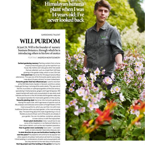 Gardens Illustrated Magazine November 2020