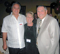 Roger and Helen Annicelli with Vic Sasso