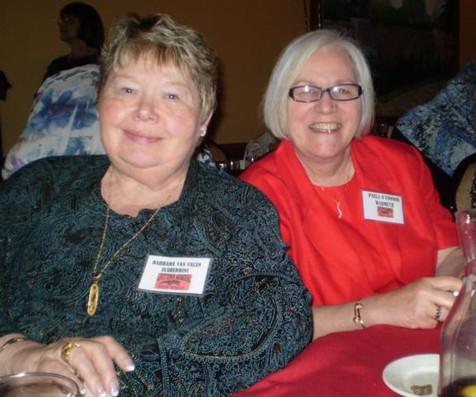 Barbara V and Paula O