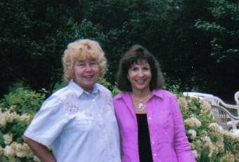 Marcy McNally & Pat Pandolfi in 1958 & 48 Years Later. Submitted by Pat Pandolfi