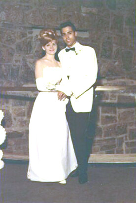 Kenny Marcus at McArthur Senior prom 1964 with date Diane Crook