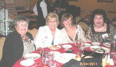 Maryann Lavery Turk, Marilyn Lerner Workman, Mary Mennette DeLuca, Ann Marie Adamec Coady
