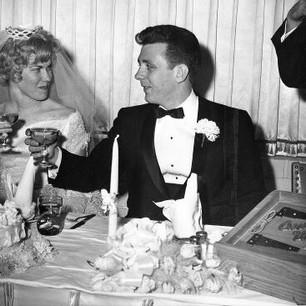 Honey (Murway) & Tom Cottrell  March 3, 1963