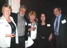 Sandy, Harvey Pearlstein, Marcy McNally Fall, Patt and Bob Levine