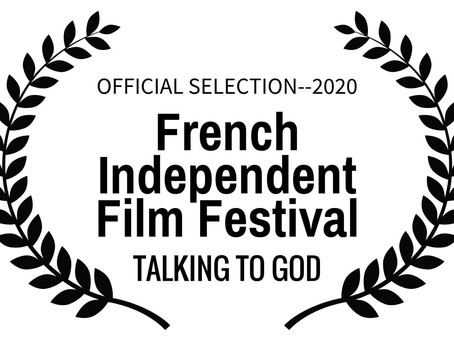 Let's grab a croissant in Cannes & watch Talking to God!