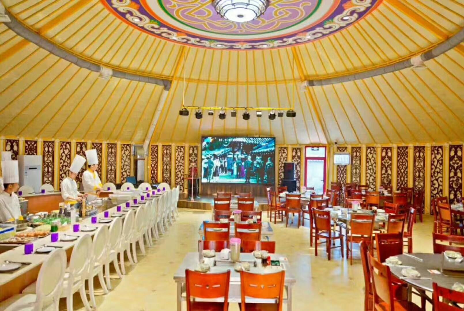 super big yurt