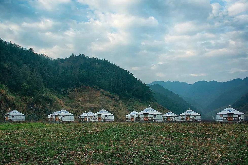 steel frame yurt manufacturer, yurt holiday park