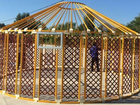 Why Steel Frame Yurt?