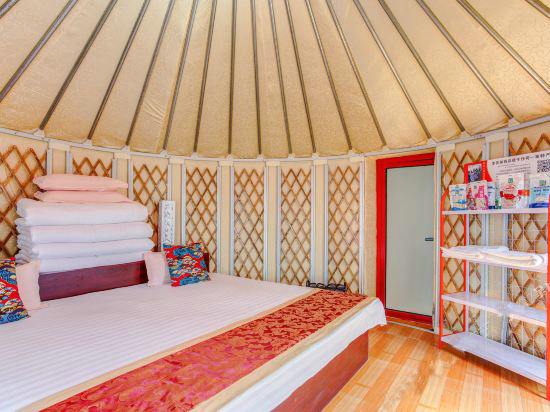 yurt inside view