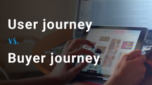 User journey vs Buyer journey