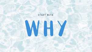"Start with ""Why"""