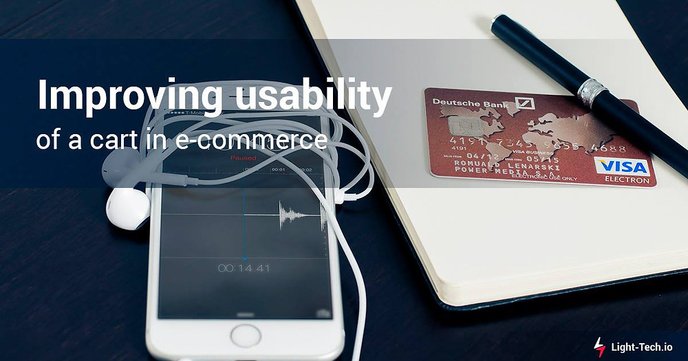 Improving usability of a cart in e-commerce