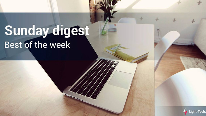 Our traditional Sunday digest with the best articles!