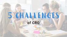 5 challenges of CRO