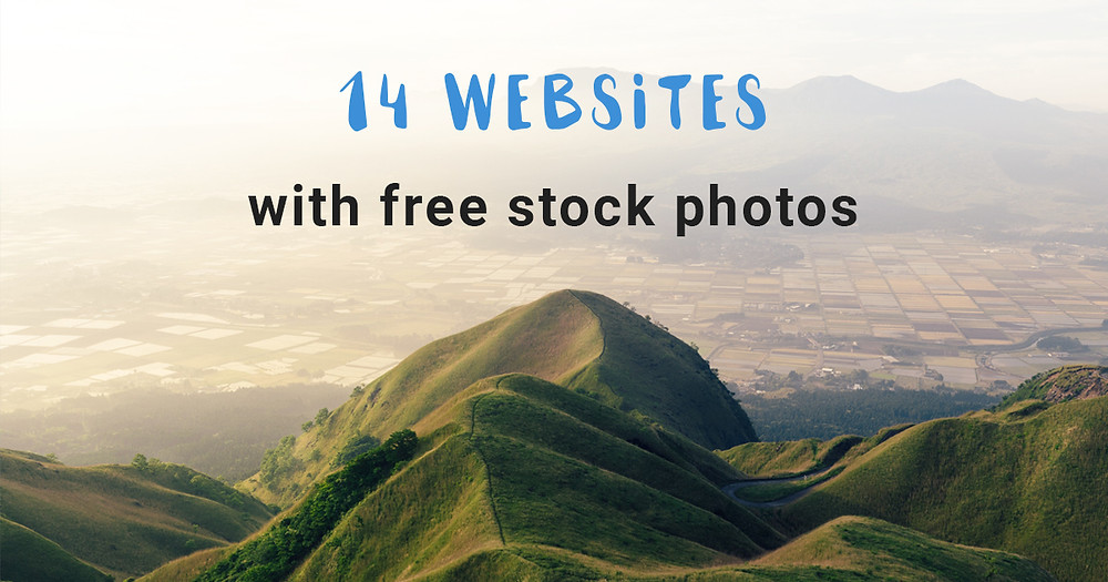 14 websites with free stock photos