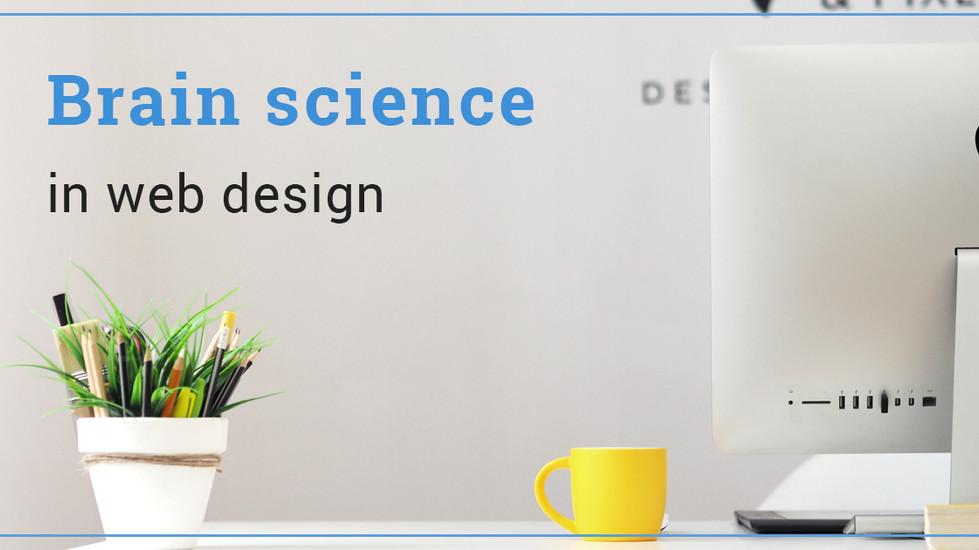 Brain science in web design