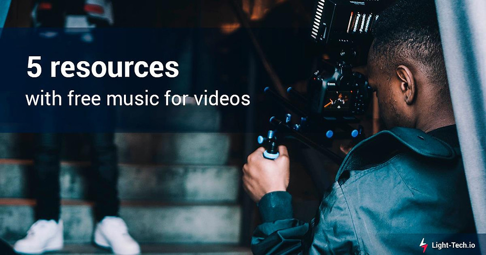 5 resources with free music for videos